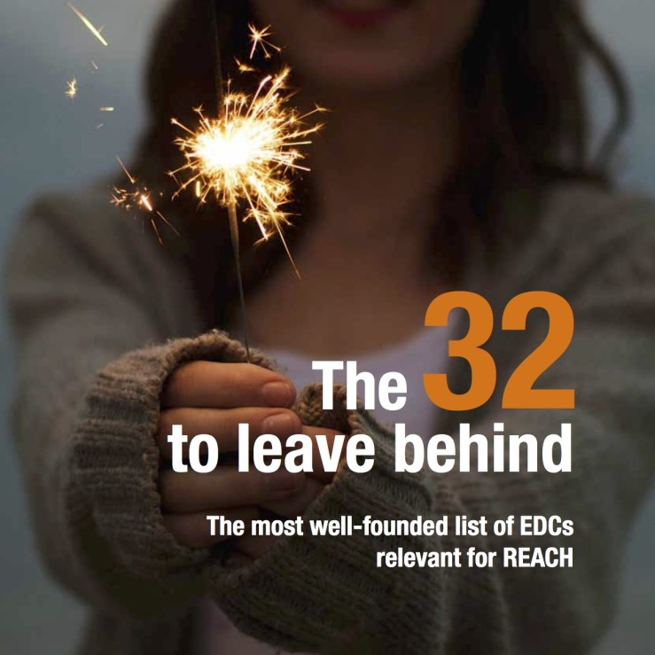 The 32 to leave behind – EDCs relevant for REACH (2015)