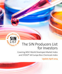 The SIN Producers List for Investors (2014)