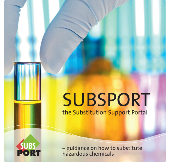 SUBSPORT – guidance on how to substitute hazardous chemicals (2012)