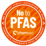 No to PFAS badge