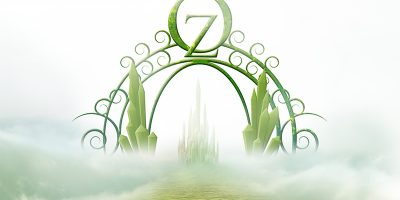 The Emerald City gate from The Wizard of Oz
