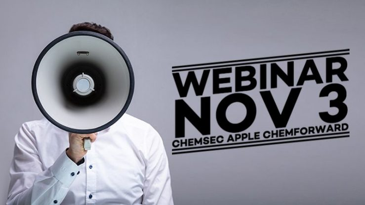 Webinar: How your company can move faster towards sustainable chemistry